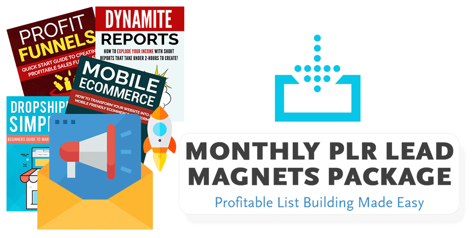 Monthly PLR Lead Magnets Package
