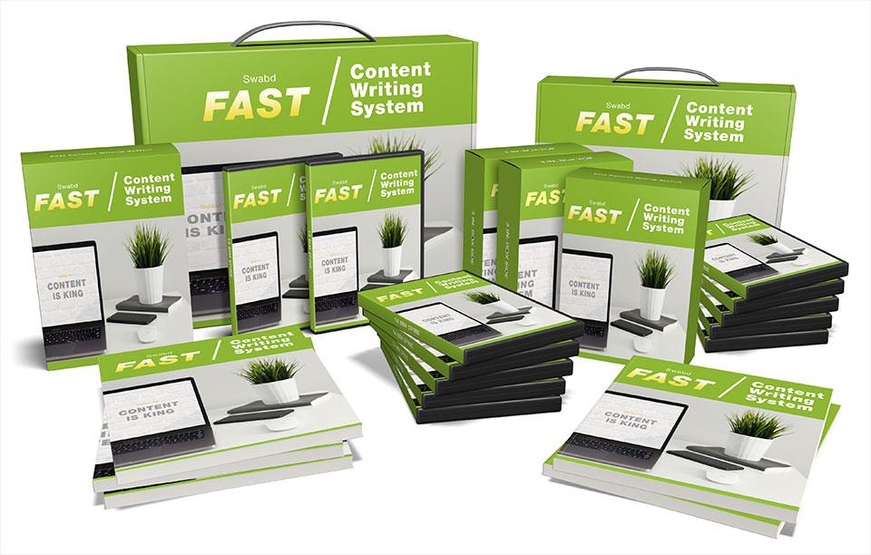 SwabdFast Content Writing System
