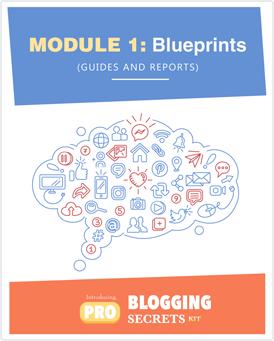 Pro-Blogging Secrets Kit Module 1