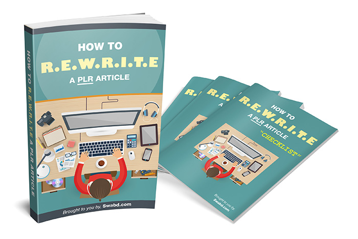 How To R.E.W.R.I.T.E. A PLR Article